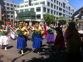 Lions Club International 'Parade of Nations' Seattle